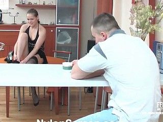 Susanna&Nicholas nylon mating movie scene