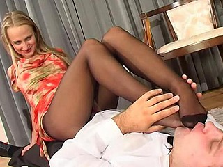 Florence&Lesley kinky nylon feet movie