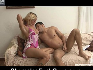 Dani&Senna shemale dicking stud vulnerable coupling