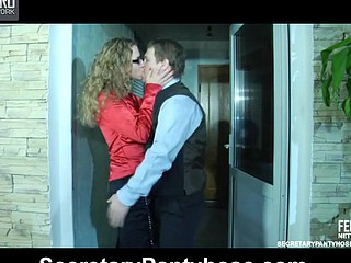 Barbara&Bertram secretary clay pipe sex action