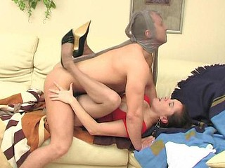 Joan&Adrian videotaped during the time that pantyhosefucking