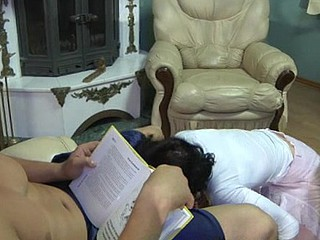 Having a thing for hung guys a mama seduces her muscle neighbor into fucking