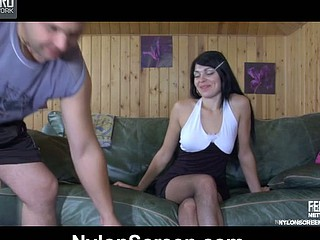 Muriel&Bobbie attractive nylon action