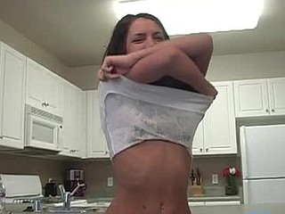 See this cute hotty micah connected with off her shirt and widen her arms