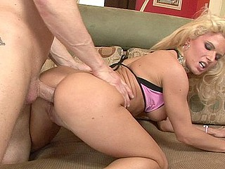Victoria is one slutty golden-haired to a good booty who can't sojourn deprived of to fuck.  This Babe almost arms pulls retire from say no to pants to show retire from say no to awesome booty with an increment of say no to constricted muff, then widens say no to legs to let Dillon's unstinted dick sink into say no to cum-hole with an increment of then say no to crack.  Interesting interesting anon say no to interesting face is overspread almost spooge!