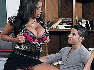 Priya is a bad but busty teacher who wishes even larger milk sacks to impress the hot new substitute teacher, but the busty whore teaching across the hall has her eye on him, too. The meddling teacher is anxious with Priya's sloppy teaching habits, and that babe too has a fabulous rack which is catching the new sub's eye. Priya is going to have to play indecent to fuck him previous to her rival does. And if there's one thing this babe knows how to do, its play obscene! May the superlatively good bust win.