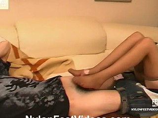 Cassandra&Vitas hot nylon feet clip