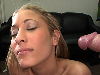 Sweet, Shy, Hot Tits, Perfect Ass... and acquires facial!