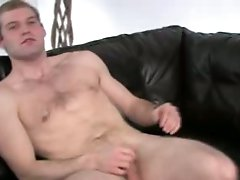 Ultra small cock on the leather bigbed