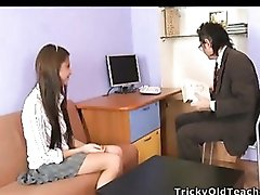 Sexy Katty wanted to fuck with her recent teacher.