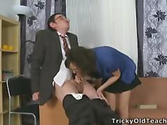 Juvenile fail to understand enticed their way teacher.