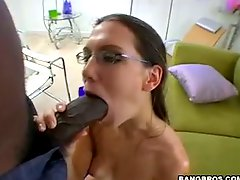 Alicia gets big black cock