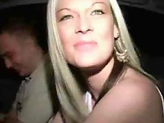 Depraved Blonde Milf Gets Fucked In A Car